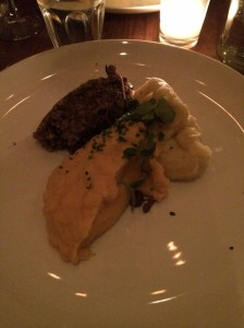 Course 3: Haggis with Neeps and Tatties