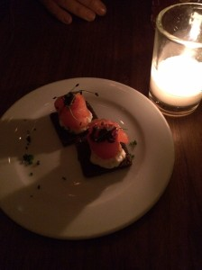 Course 1: Smoked Salmon